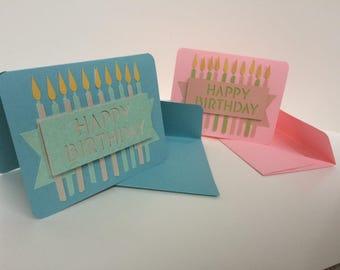 Handmade Happy Birthday Cards