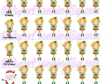 Elf on the Shelf Reminder Stickers/ Elf on the shelf stickers/ elf stickers/ christmas sitckers/ santa stickers/ holiday supplies/ christmas