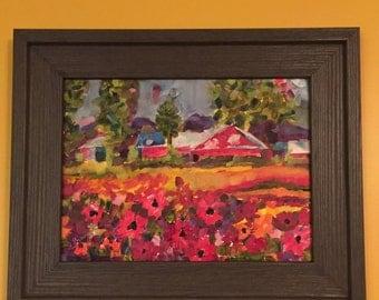 Poppy Field at Little Red Barn