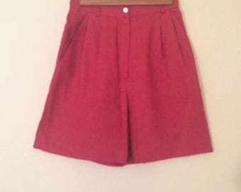 Vintage Rodier High Waisted Shorts