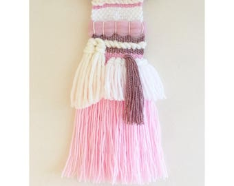Straberrys & Cream Woven Wall Hanging