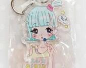 Key Ring [Electric Girl] /キーホルダー「エレキガール」 KINKOJUICE
