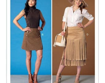 Mc Call's M7438 skirt sewing pattern