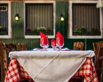 Fine Art Photography Print - An Italian Restaurant in Venice, Italy