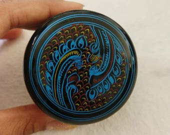 Burmese Lacquerware box - Handmade