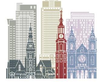 Amersterdam Cityscape Print