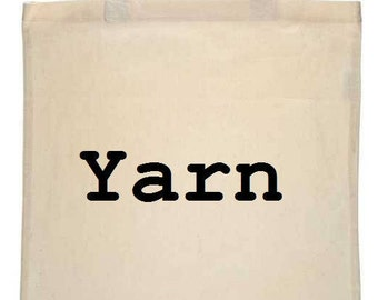 Yarn Canvas Tote Bag