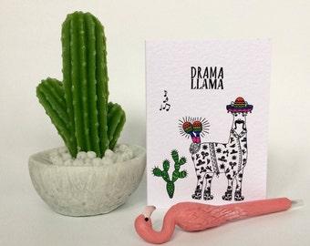 Drama Llama Birthday Card (HB30)