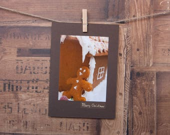 Gingerbread man, Gingerbread house, Gingerbread, Christmas, Christmas card