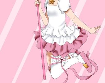 Fight Like A Girl: Sakura