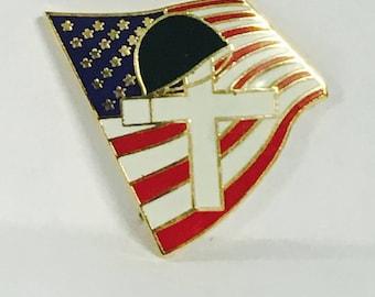 Military Chaplain Lapel Pin