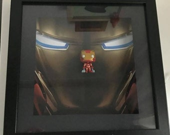 Marvel's Iron Man Inspired Funko Pocket Pop! Frame