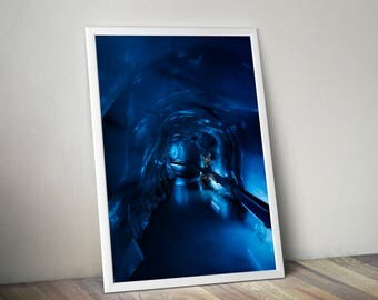 Blue Ice Cave Printable