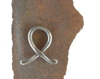Troll Cross, Viking Trollkors Cross, hand forged