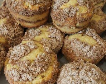 Mini Sour cream coffee cakes
