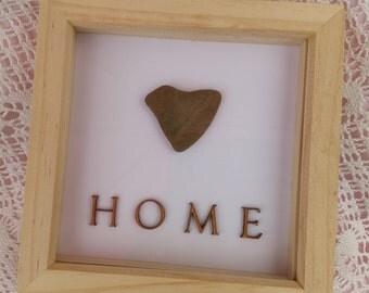 Heart Pebble frame - Home