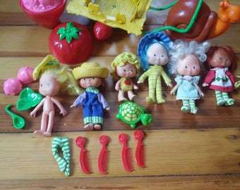 Vintage 1980s Strawberry Shortcake Collection