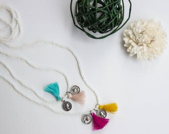Necklace with Tassels | | Tassels necklace