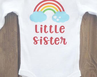 Rainbow baby bodysuit, rainbow baby onesie, coming home outfit, coming home gift, pregnancy announcement, customized rainbow baby