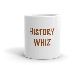 History Whiz Mug