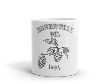 Essential Oil Hops Mug