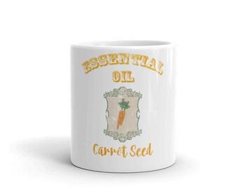 Essential Oil Carrot Seed Mug