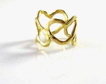 Handmade Hearts Ring
