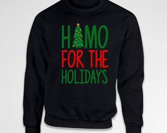Gay Pride Outfit Holiday Season Gay Apparel Christmas Humor LGBT Gifts Holiday Presents For Xmas Crewneck Sweatshirt Hoodie TEP-410