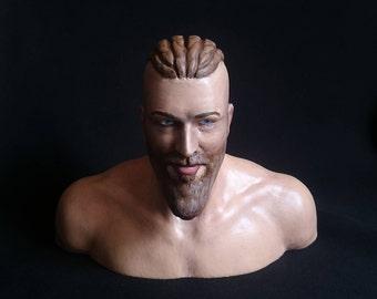 Ragnar Lothbrok Norse Eyrarland Statue Viking statue 3D Printed