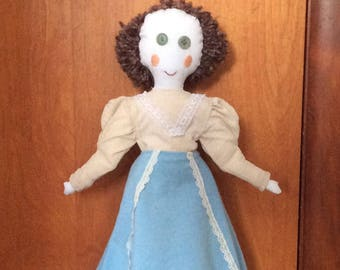 16'' Mrs. Miller doll, Gibson Girl 1900