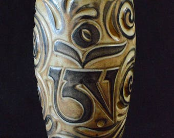 Handmade ceramic tumbler (cup)