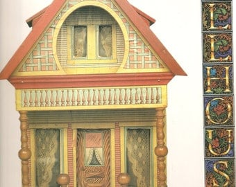 VINTAGE Book - Dollhouses, By Valerie Jackson - Collectibles - Collector's Guide - Vintage Dolhouses