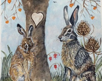Valentine Hares