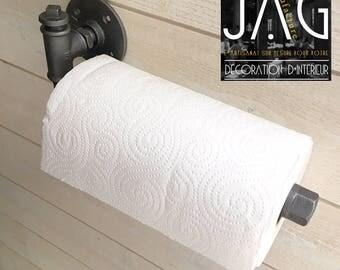 paper towel dispenser / industrial all metal paper towel