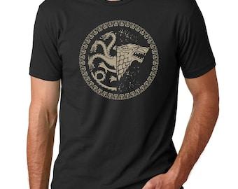Stark Targeryan Sigil - Game of Thrones Fan Shirt