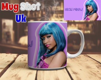 Nicki Minaj Style Coffee Mug Fan Gift