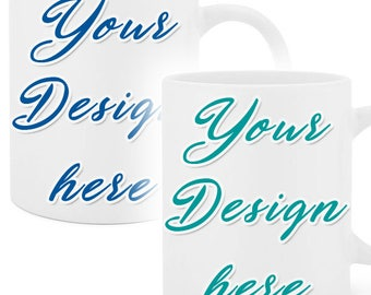 Custom coffee mugs (set of 2 - 20oz.)