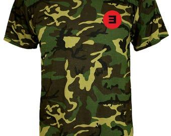 T-SHIRT EMINEM REVIVAL pocket / tshirt rap / tee music / tshirts rapper / tees hip-hop / tshirt walk on water / gift / fans / camo