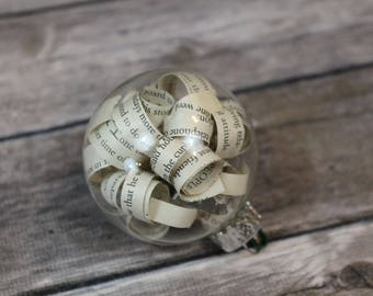The Great Gatsby Christmas Ornament