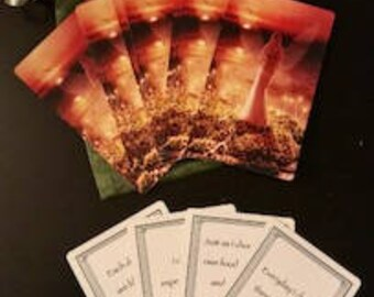 Positive Energy Affirmation Deck