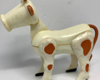 Vintage Fisher Price cow
