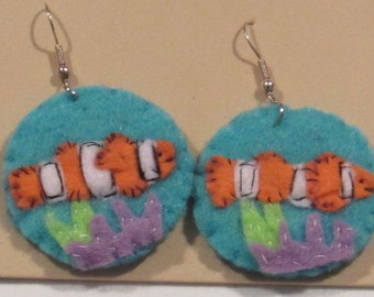 Ocean theme Earrings