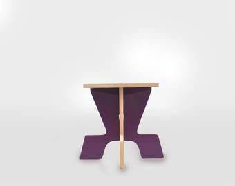 Kids bench, silla infantil, para niños, Childs stool, Chair kids, Chair, Bench, Purple, Morado, taburete, pupitres, sillas para, mesa
