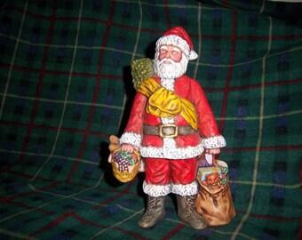 Vintage Ceramic Santa #1