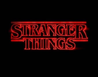 Stranger Things font SVG file stranger things alphabet svg Stranger things t-shirt svg Stranger things poster svg eps png dxf pdf cut files