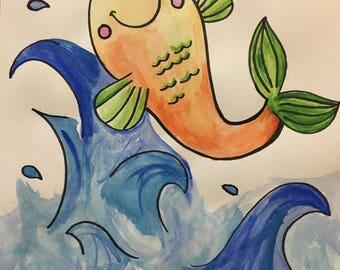 Happy Fish - Flip