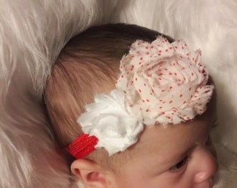 Polka dot  headband, Fun headband, babygirl, headband, bow, accessories