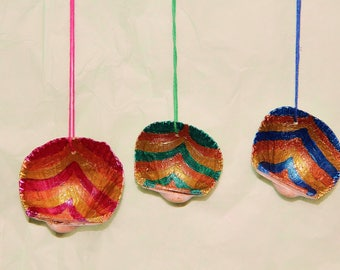 Painted Shells (set of 3)