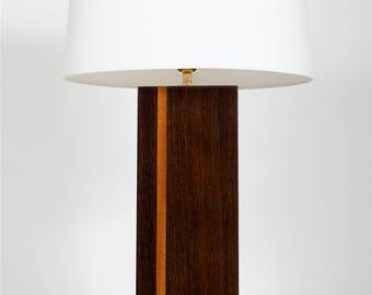 lamp design wengué mahogany