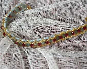 "Bracelet ""Indian night"""